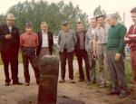 1975 grenspaal Romershoven