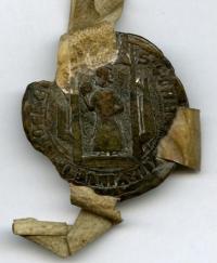 1385 zegel van de schepenbank