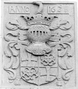 wapen van Huyn van Amstensraedt - Ter Poorten, Althoeselt