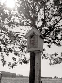 Kapelletje in de Papenbergstraat op de plaats waar vroeger het Duivelskruis stond