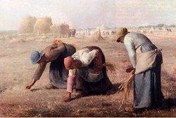 De arenleessters, Millet