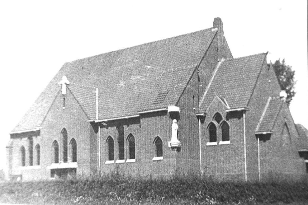 De kerk van de Neder
