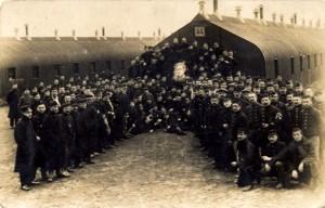 kamp Munsterlager - met portret van koning Albert I